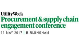 Utility Week Procurement and Supply Chain Engagement Conference