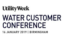 Utility Week Water Customer Conference 2019