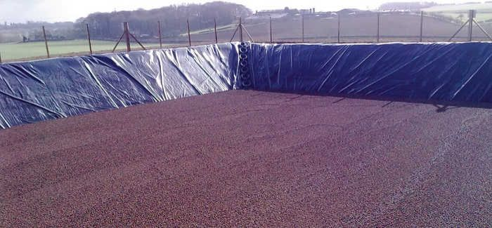 Aerocover is a buoyant lightweight covering of aggregate floated on the surface of tanks and lagoons