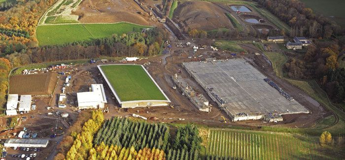 At Glencorse Water Treatment Works a hydro turbine will produce up to one-third of the work's onsite power requirements