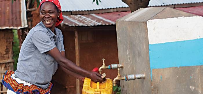 The WaterAid project has changed the lives of the residents of Gellabo village