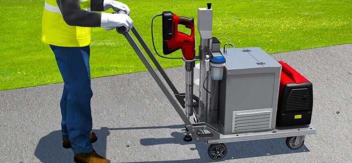 iDROLOC uses portable equipment to detect helium leaking from the pipes