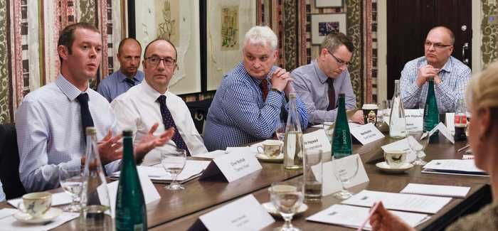Participants at the round table in London got to grips with the issues