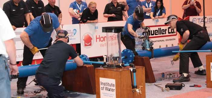 The Drilling and Tapping competition is a test of skill and dexterity