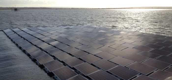 The array has over 23,000 solar panels