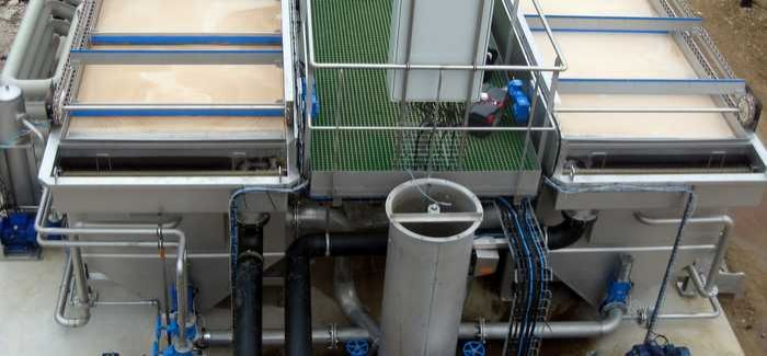 DAF plants are often used where there is a high level of suspended solids and colloidal material