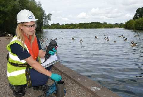 Amy Jack, Environmental Monitoring Technician, OHES Environmental