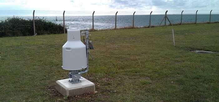 The 4D Pluvio installation