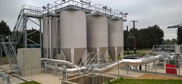 Anglian Water's Watton Water Recycling Centre, which is trialling DynaSand Oxy