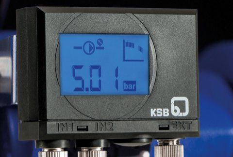 KSB's PumpMeter continuously analyses pump operating data
