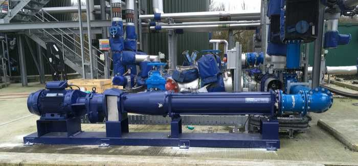 The installation at Anglian Water's Basildon WwTW