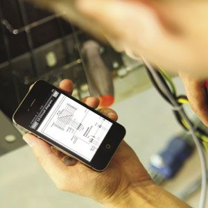 How apps enhance maintenance