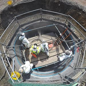 Getting to the heart  of sewer repair