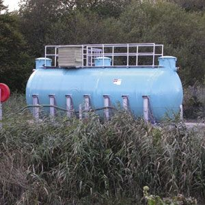 Landfill leachate meets ammonia target