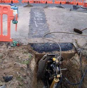 Kobus pulls the cables for Yorkshire Water WTW upgrade