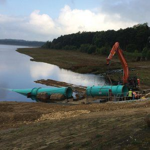 Underwater solutions for Eccup reservoir