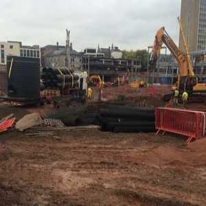 Project Focus: Newport retail development requires sewer makeover