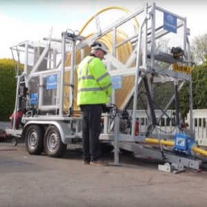 Innovation Zone: UIS Transmatic Coiled Pipe Pushing Trailer