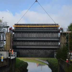 Project Focus: West Stockwith tidal gate replacement