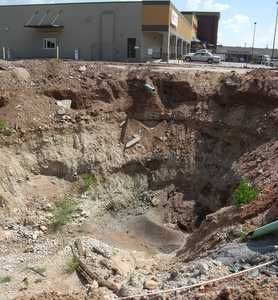 Pump engineering skills help resolve sink hole drama