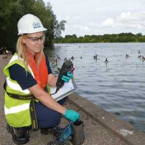 Front Line: Amy Jack, Environmental Monitoring Technician, OHES