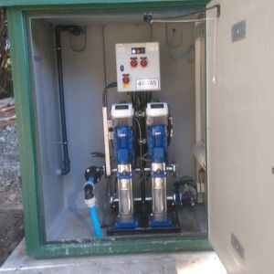 Tank and booster combination provides safe solution