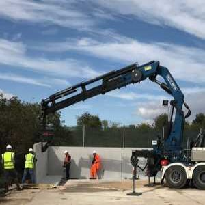 Precast concrete panels get flexible for sludge storage