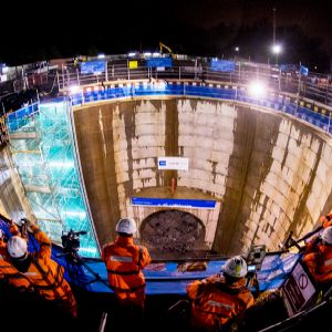 Tunnel vision: Building the Shieldhall sewer superstructure