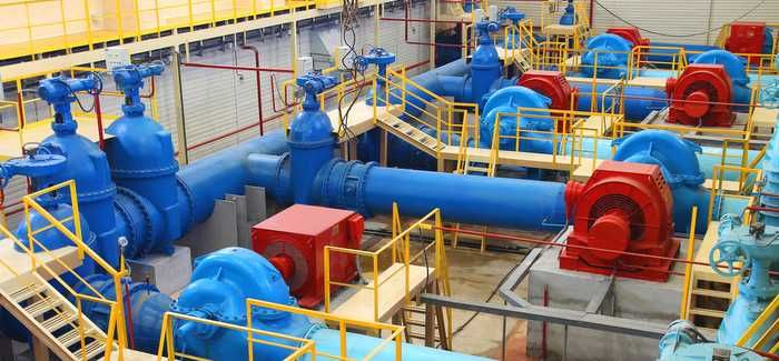 Water pumping station: managing data is now as critical as managing the physical infrastructure, said Singh