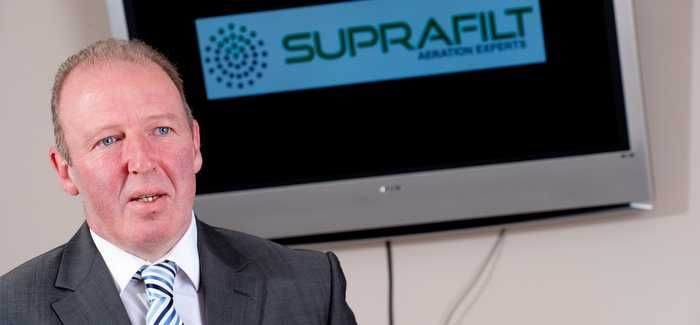 """Suprafilt sales director Graeme Fielden says the growth of the company has been """"phenomenal"""""""