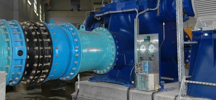 Water transport pumps of the kind KSB expects to supply to Athmania, Algeria, later this year