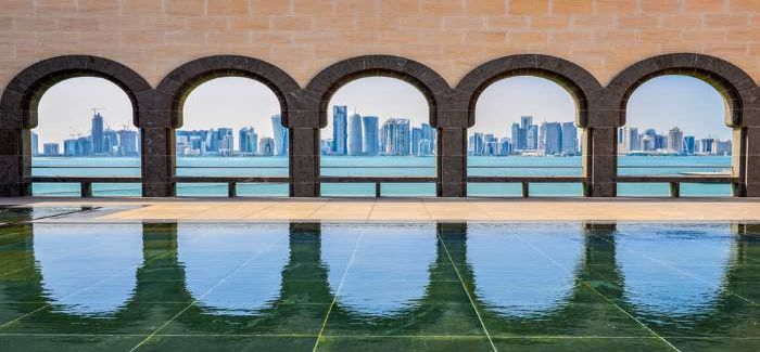 View from the museum, Doha, Qatar: British Water builds on the success of its 2012 trip to the Middle East
