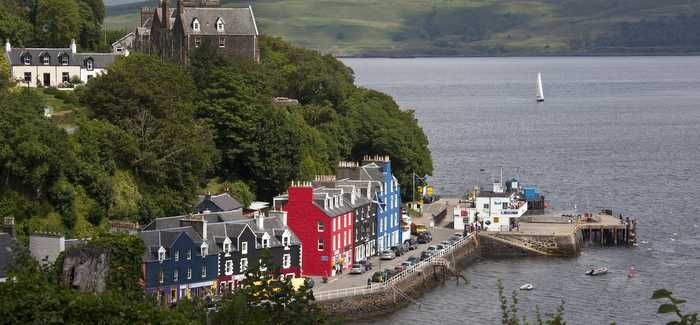 The increase in WTW capacity will enable future development in Tobermory