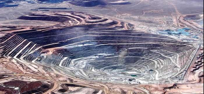 Chile's Escondida copper mine, the largest in the world