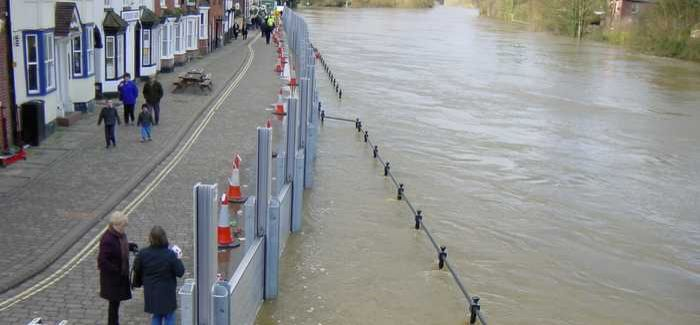 Media Spotlight For Bewdley Flood System Wwt