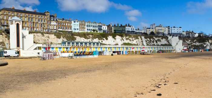 A beach in Thanet, Kent - Southern Water recently appealed against the sentence for a pollution incident in 2011, saying it was too high