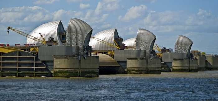Studies and investigations have been carried out to look at how tidal flood risk is increasing in the Thames estuary due to ageing flood defence structures
