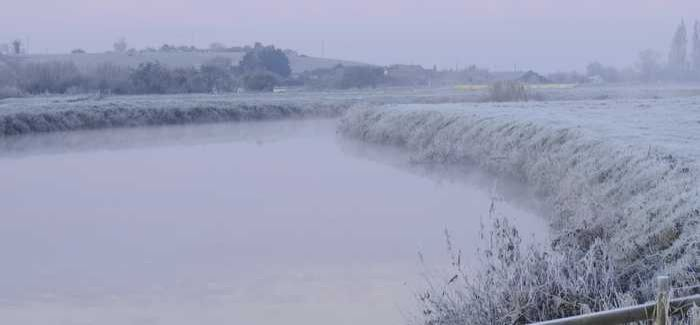 Dredging is taking place where the River Parrett meets the Tone
