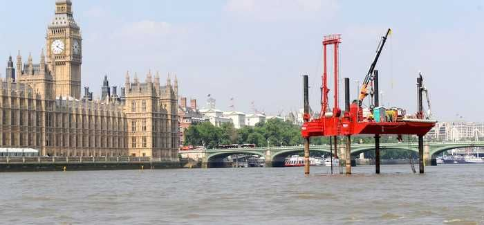 Thames Water can carry out certain preparatory work on the project