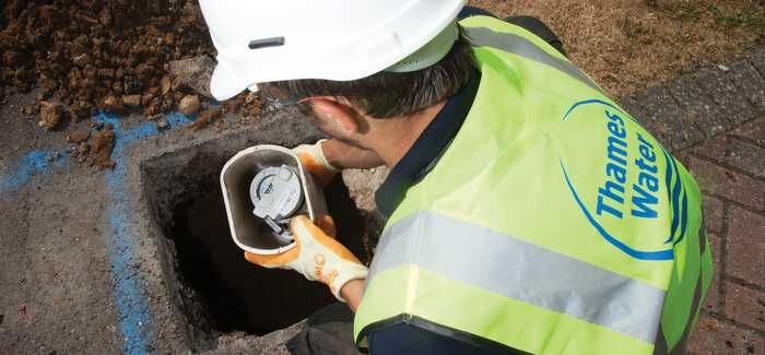 Thames Water's metering programme is targeting areas where it can be most effective first