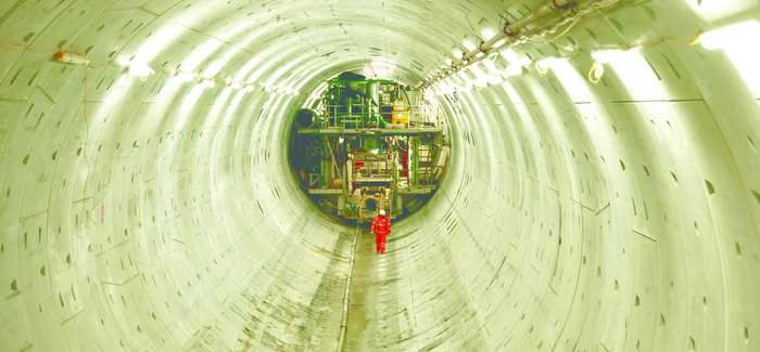 The diameter of the Tideway Tunnel will be more than 23ft