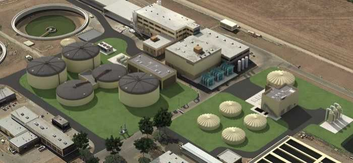 The project incorporates thermal hydrolysis to produce biosolids