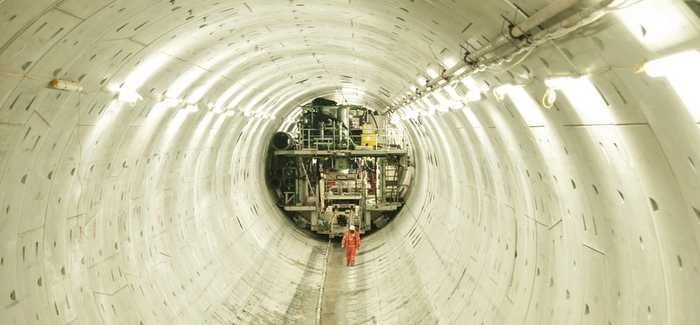 The Tideway tunnel will connect to the Lee Tunnel