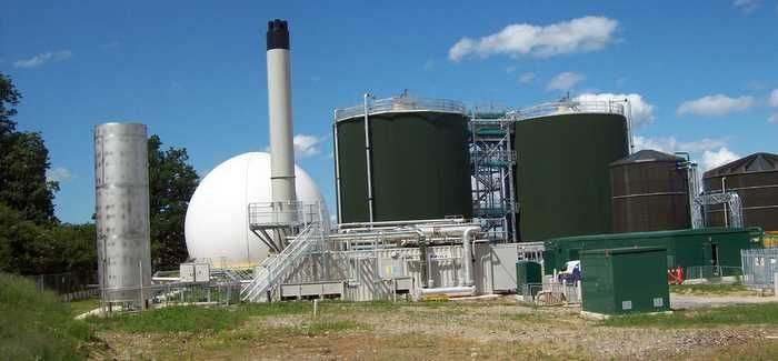 Anaerobic digesters were installed at Five Fords in 2012 as part of a £23M investment