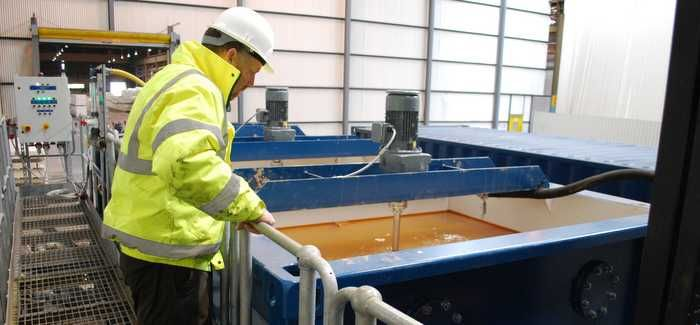 Tata Steel used Siltbuster equipment in the 10-week project