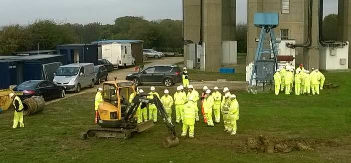 Forty staff took part in the 'Stand down' day at Affinity's Rye Hill WTW in Harlow