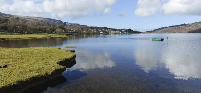 Welsh Water has invested £2.5M at the treatment works to improve water quality at Llyn Padarn