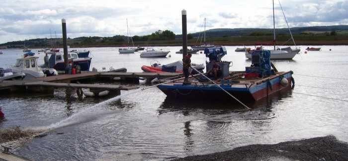 Devon Marina succeeds with DIY dredging operation - WWT