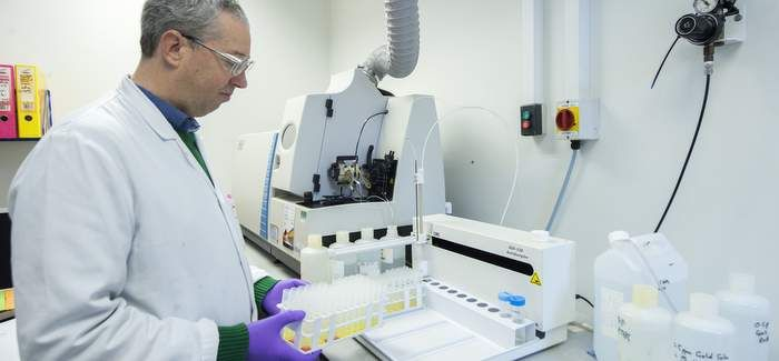 Around one million samples are tested annually by Wessex Water's scientists
