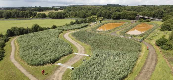 The Hockery Brook mine water treatment scheme is one of 82 nationwide that the Coal Authority has